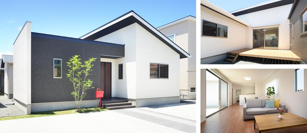八代永碇町13号地・平屋モデルハウス