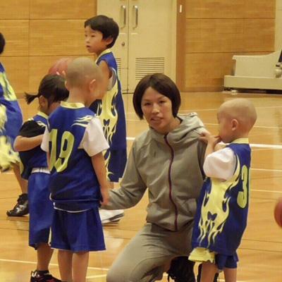 バスケットボールの指導ができます。(未就学児対象)