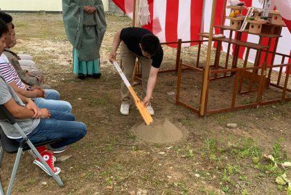 熊本県宇城市I様邸、地鎮祭が執り行われました。