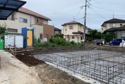 熊本県上益城郡O様邸、基礎工事が始まりました。