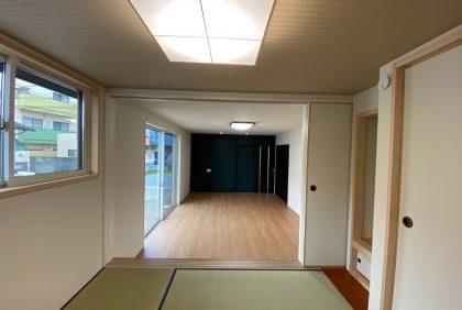 熊本県熊本市中央区S様邸、竣工しました。