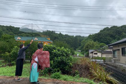 熊本県天草市N様邸、地鎮祭を執り行いました。