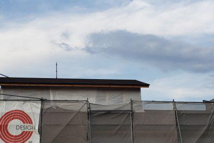 熊本県宇土市S様邸、屋根工事始まりました。