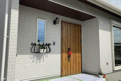 熊本県宇土市S様邸、お引渡しでした。