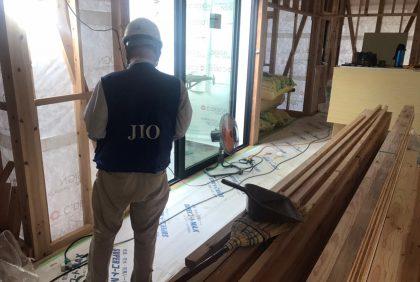 熊本県天草市N様邸、防水・金物検査の様子です。