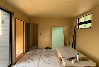 熊本県天草市N様邸、大工工事②始まりました。