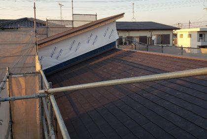 熊本県宇土市Y様邸、屋根工事始まりました。