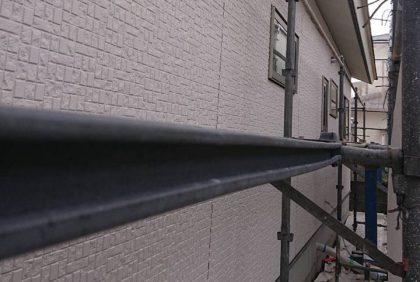 熊本県宇土市Y様邸、外壁工事始まりました。