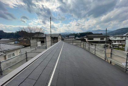 熊本県人吉市H様邸、屋根工事始まりました。
